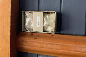 Above ground termite bait station image