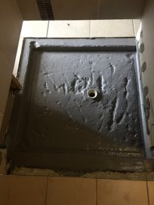 Termite protection for shower recess image