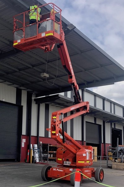 Commercial building bird proofing image