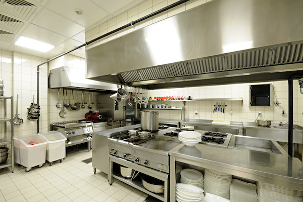 Commercial kitchen image